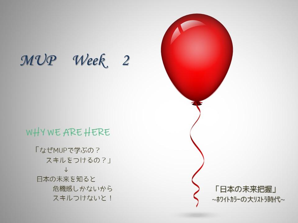 MUP Week 2